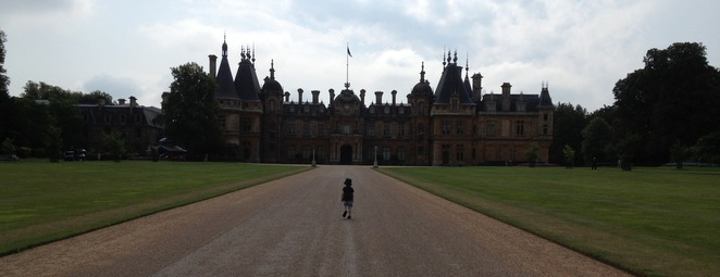 Waddesdon Manor, long drive
