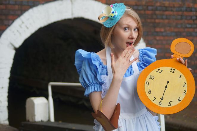 Alice in Wonderland, Dudley Canal and Limestone Mines, May Half Term Holiday