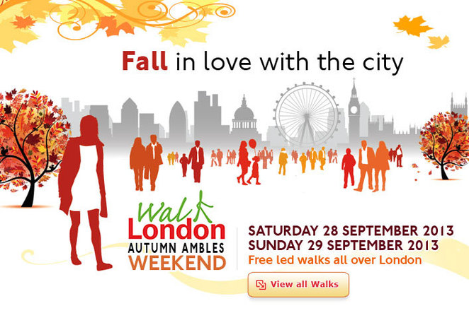 autumn ambles, walk 4 life, walk london
