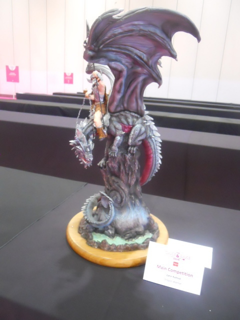 cake and bake show, cake competition, best in show, dragon