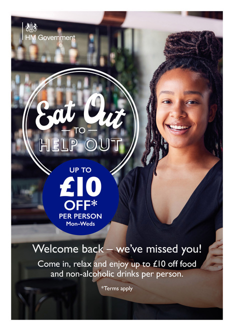 eat out to help out, restuarants, cafes