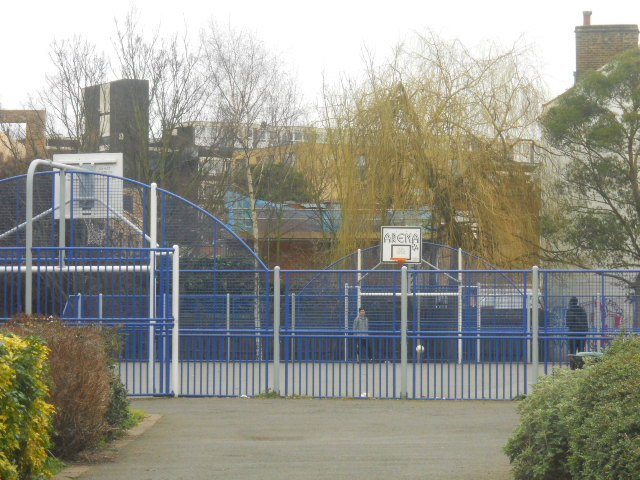 Kennington Park, basket ball court