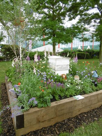BBC Gardeners World Live, Birmingham NEC, Show Gardens, Beautiful Borders