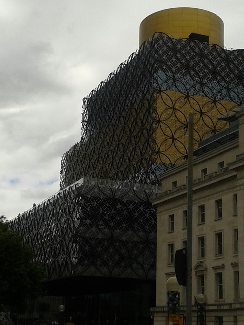 Birmingham library, reading, books