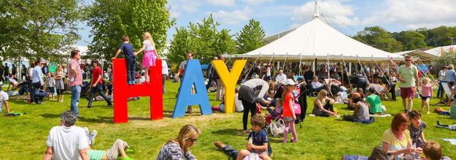 hay festival book writing ideas literature wales
