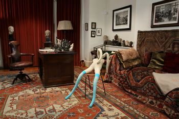 mad, sad, and bad, women and the mind doctors, freud museum, Suffolk Bunny, Sarah Lucas,