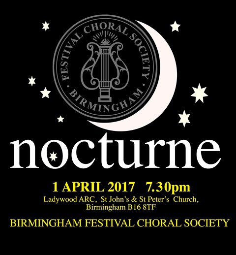 nocturne, Birmingham Festival Choral Society concert