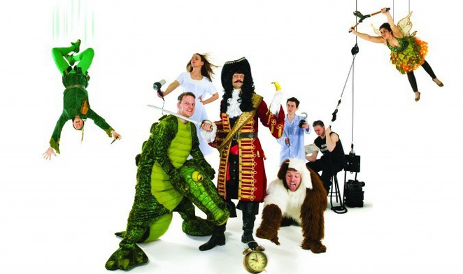 Peter Pan Goes Wrong, Malvern Theatres, Birmingham Rep Theatre