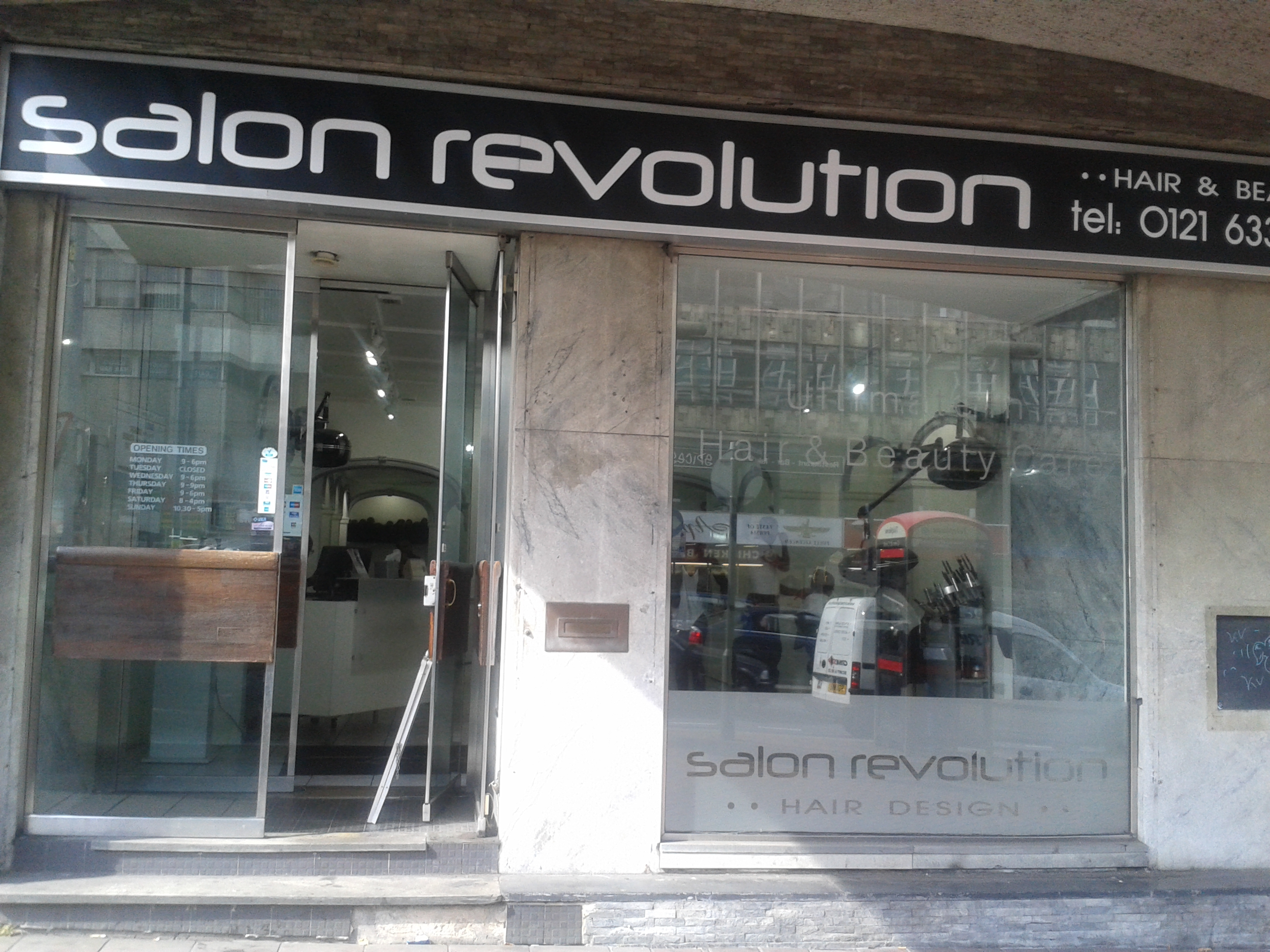 Salon revolution birmingham for Hair salon birmingham