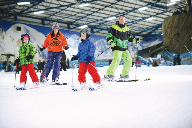 SnowDome, Tamworth, skiing, snowboarding, indoor ski slope