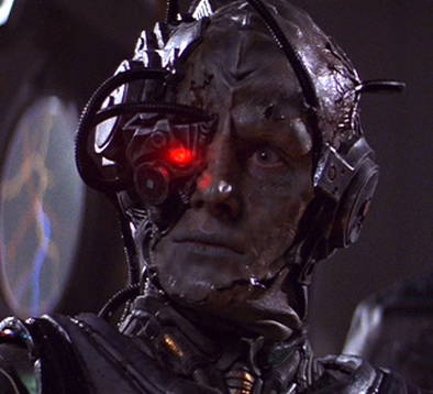 star trek, borg