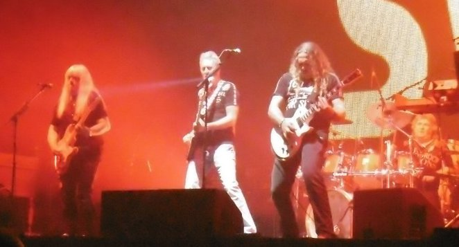 The Sweet, Andy Scott, Ritchie Blackmore's Rainbow, Genting Arena Birmingham, Gig Review