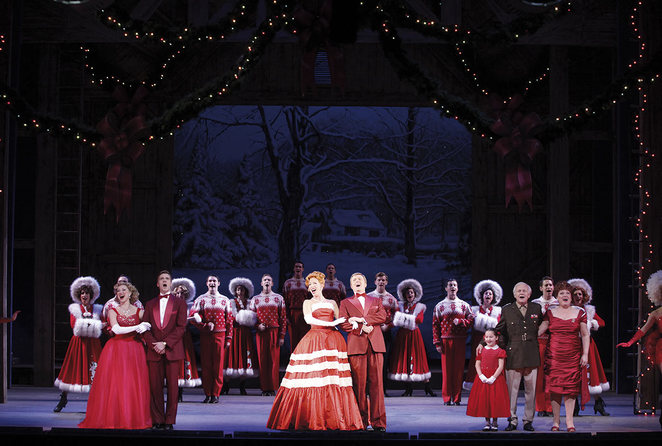 white christmas the musical, dominion theatre