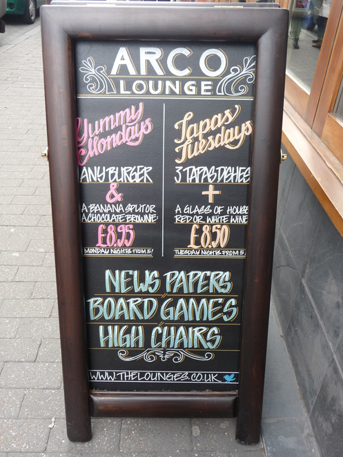 Arco Lounge, cafe, Harborne High Street, coffee shop brunch,