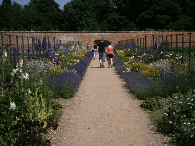 attingham park, national trust, shropshire, atcham, stately home, walled garden
