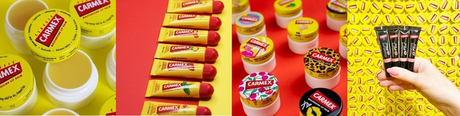 carmex, lip products, health and beauty out of lockdown