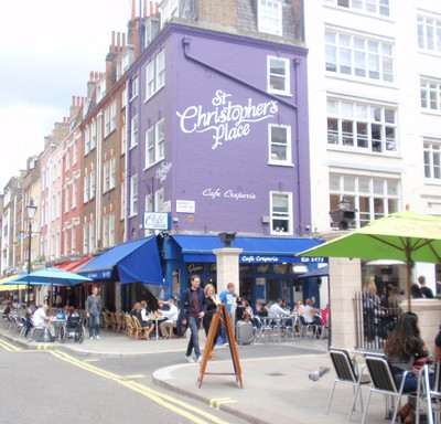 The place to eat crepes in London