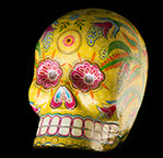 Death A Self Portrait Wellcome Collection Mexican Day of the Dead skull