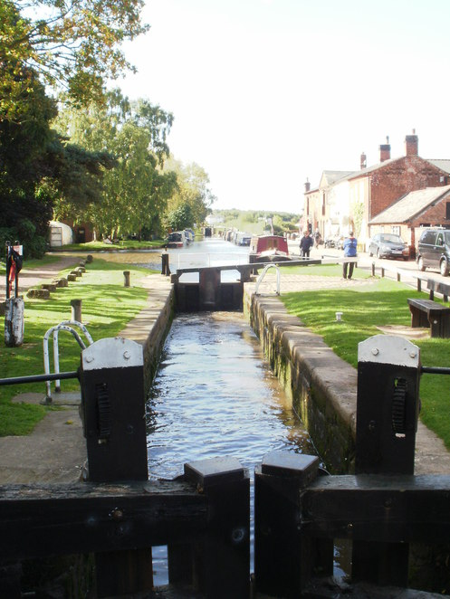 Fradley Junction, Trent & Mersey Canal, Coventry Canal