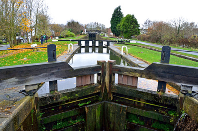 Great Britain England Lancashire Canal Canals Locks Traditional Pubs Ale Ales Fine Food