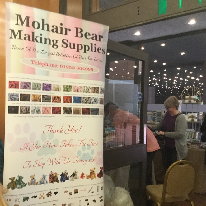 hugglets, teddies, winter fest, mohair bear making supplies