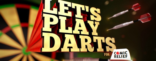 lets play darts for comic relief, surrey country club, lakeside surrey, bbc