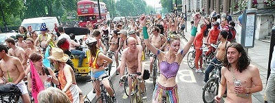 London World Naked Bike Ride