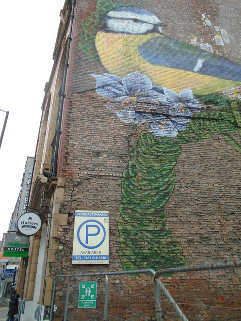 Manchester, history, Woolworths, Manchester Piccadilly gardens, Northern Quarter, Hatters Hostel, murals