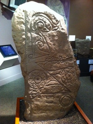 meffan, museum, forfar, angus, pict, pictish, stone, stone carving, dunnichen, symbol stone