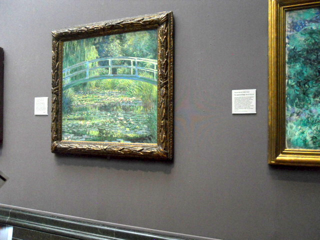 national gallery, monet