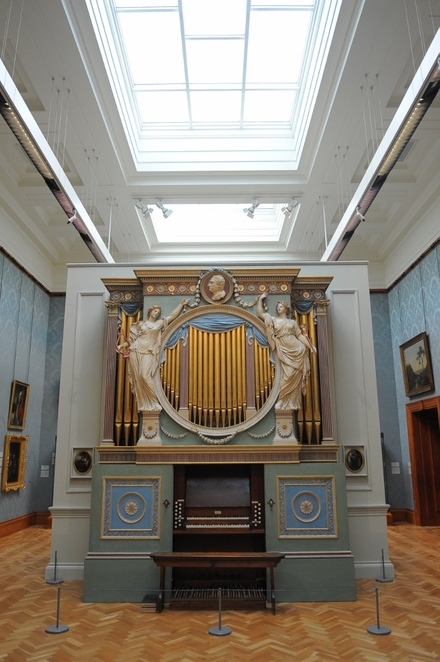 Sir Watkins Williams Wynn organ. Credit National Museum Wales