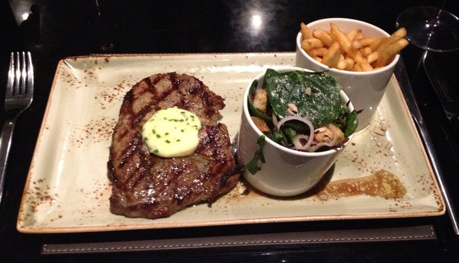 Steak, Steak and Lobster Restaurant, Bloomsbury