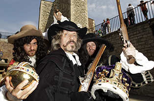 tower of london, reenactment