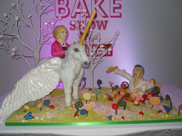 cake & bake show, tattooed bakers, paul hollywood, mary berry, bbc good food cakes & bakes