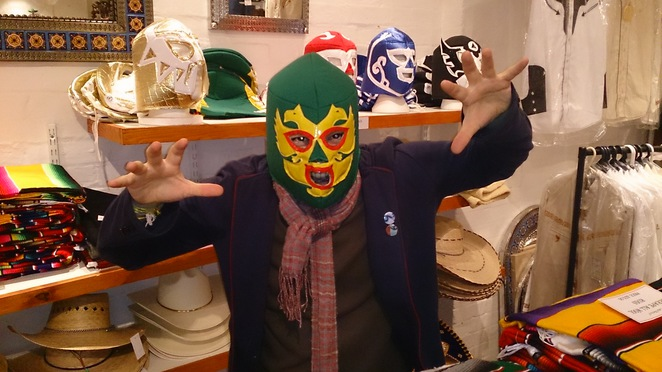 Casa Mexico, Mexican products, Mexican fashion, Mexican wrestling masks