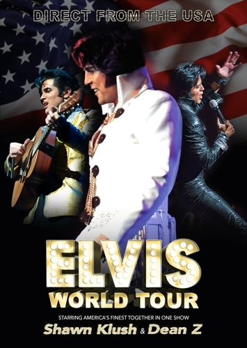 Elvis World Tour, Elvis Presley, Shawn Klush, Dean Z, Estelle Brown, The Sweet Inspirations, Symphony Hall Birmingham