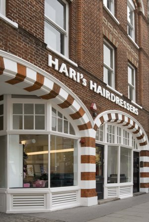Hari's hairdressers, free models haircut, London, life on a budget, save money