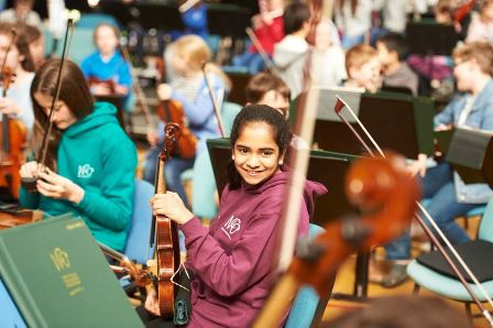 National Children's Orchestras of Great Britain, Naina Reddy, Classical music concert, Birmingham Town Hall,