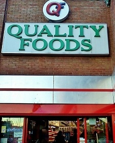 Quality Foods Store in Southall