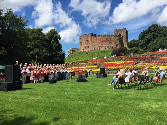 Tamworth Voices, Tamworth Castle