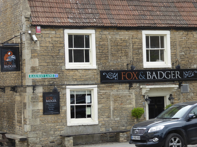 The Fox and Badger
