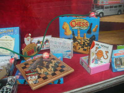toys on parade, mitcham, chess