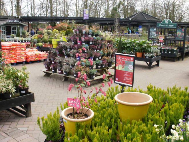 Byrkley Park Garden Centre