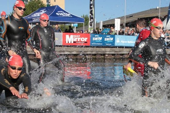 freedom from torture, great swim
