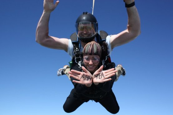 freedom from torture, skydive