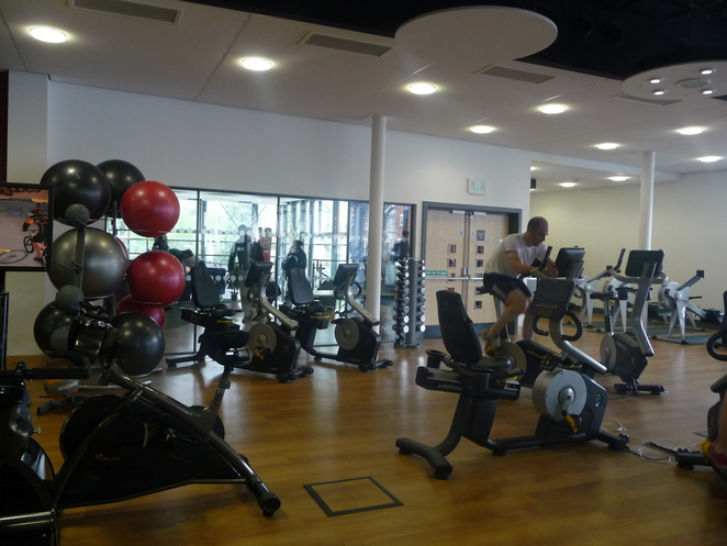 Gym, Harborne leisure centre,
