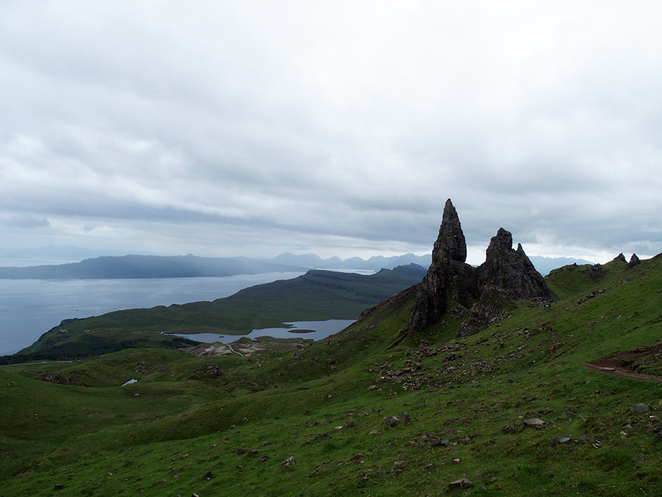 Isle of Skye, Scotland, Walks, Hebrides, Old Man of Storr