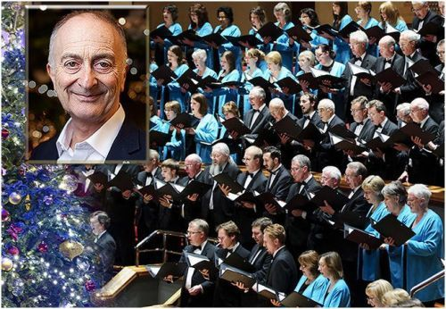 Katherine Jenkins, Symphony Hall Birmingham, Christmas shows, Alan Titchmarsh, Sir Tony Robinson