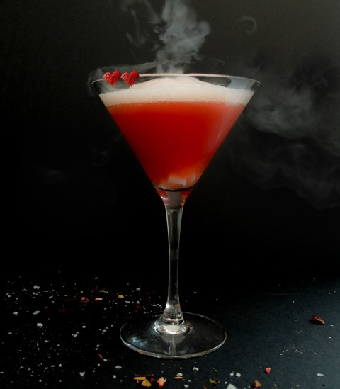 love potion martini, Lancaster hotel london, valentines, romantic