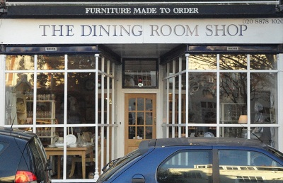 Outside the Dining Room Shop